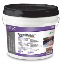 Visitors to the booth can experience TecniColor™ Commercial Grade Grout.