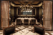 Banker Wire Mesh Satisfies Diverse Design at Carnevino Steakhouse