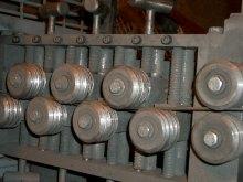 The straightening wheels