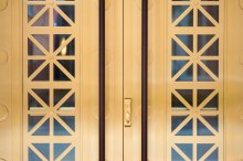 Balanced Door, Door, Construction, Architecture, Building Design, Commercial building, commercial architecture, bank