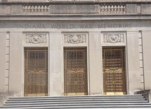Indiana War Memorial AFTER photo