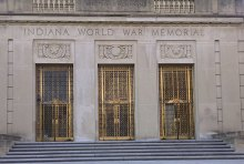 Indiana War Memorial BEFORE photo