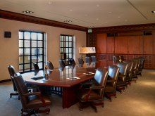Conference Room with Hope's Windows at USC School of Cinematic Arts