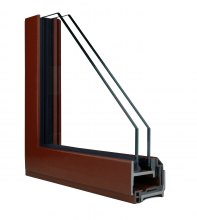 Profile of Hope's® Landmark175™ Series operable solid steel window with patented Thermal Evolution™ technology