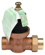 Lead-free pressure reducing valave (Zurn 34-NR3XL)