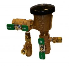 Zurn Freeze Prevention Valve (Model ZWFR) installed on (420XL) Vacuum Breaker