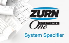 Home page of Zurn One System Specifier