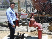 David Ochoa, Senior Water Protection Technician, Elsinore Valley Municipal Water District