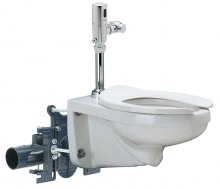 The Zurn EZCarry™ High Efficiency Toilet and Carrier (HETC) System