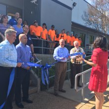Ribbon-cutting Ceremony for the new Zurn Atlanta Service Center