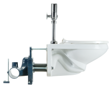 Zurn High Efficiency Toilet and Carrier System.