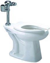 Z5655.446 1.1 GPF HET AV Hardwired Exposed Automatic Integral Sensor Diaphragm Floor Mounted Toilet System
