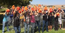 Zurn Wilkins associates in group bucket dump for ALS Challenge