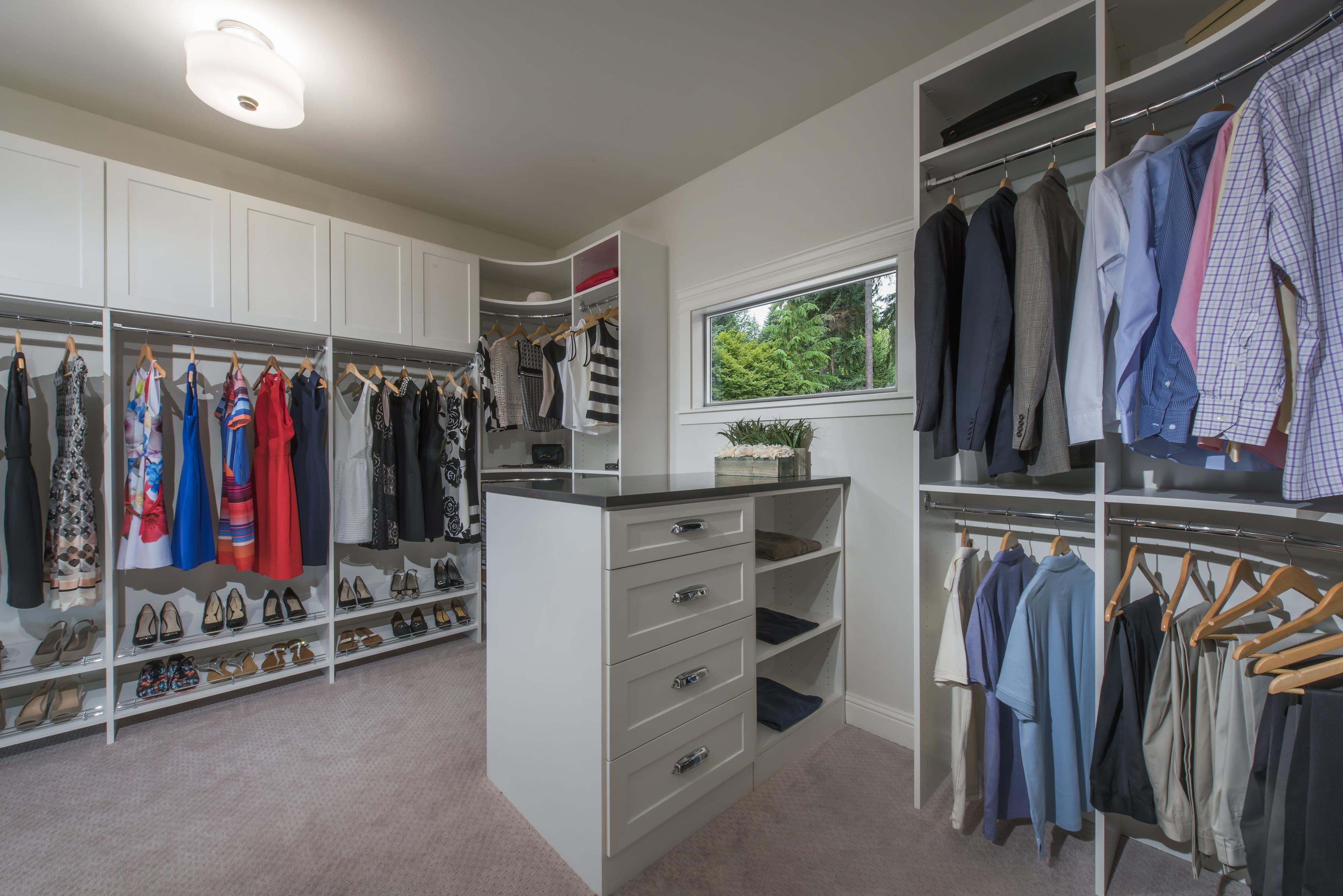 Closetmaid Supplies Array Of Luxury Closet Systems For Custom Home