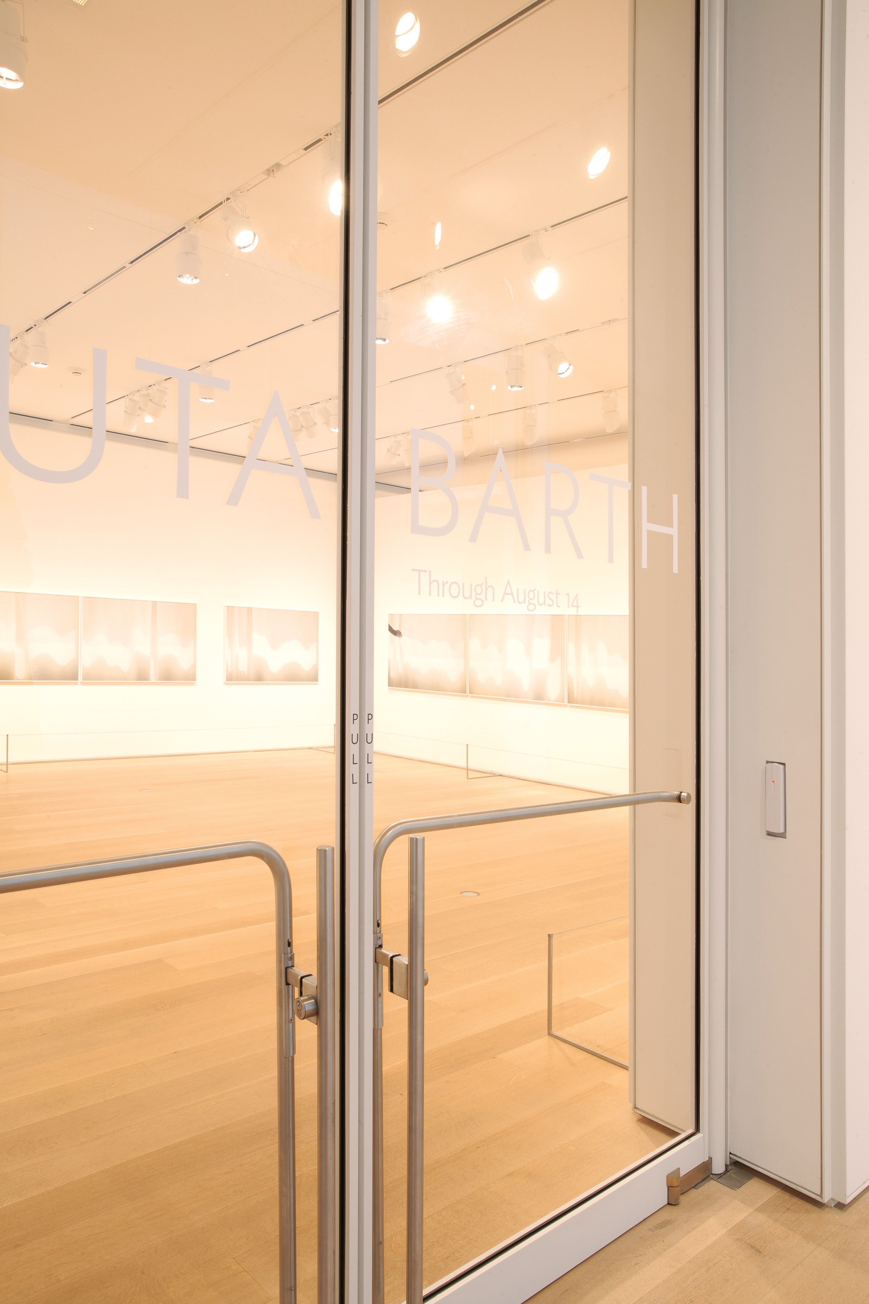 ... installed at the exterior entrances lobby and internal galleries this brings the tally to 118 total signature Ellison doors throughout the museum. & New Museum Wing Specifies 106 New Ellison Doors for Priceless Art ...