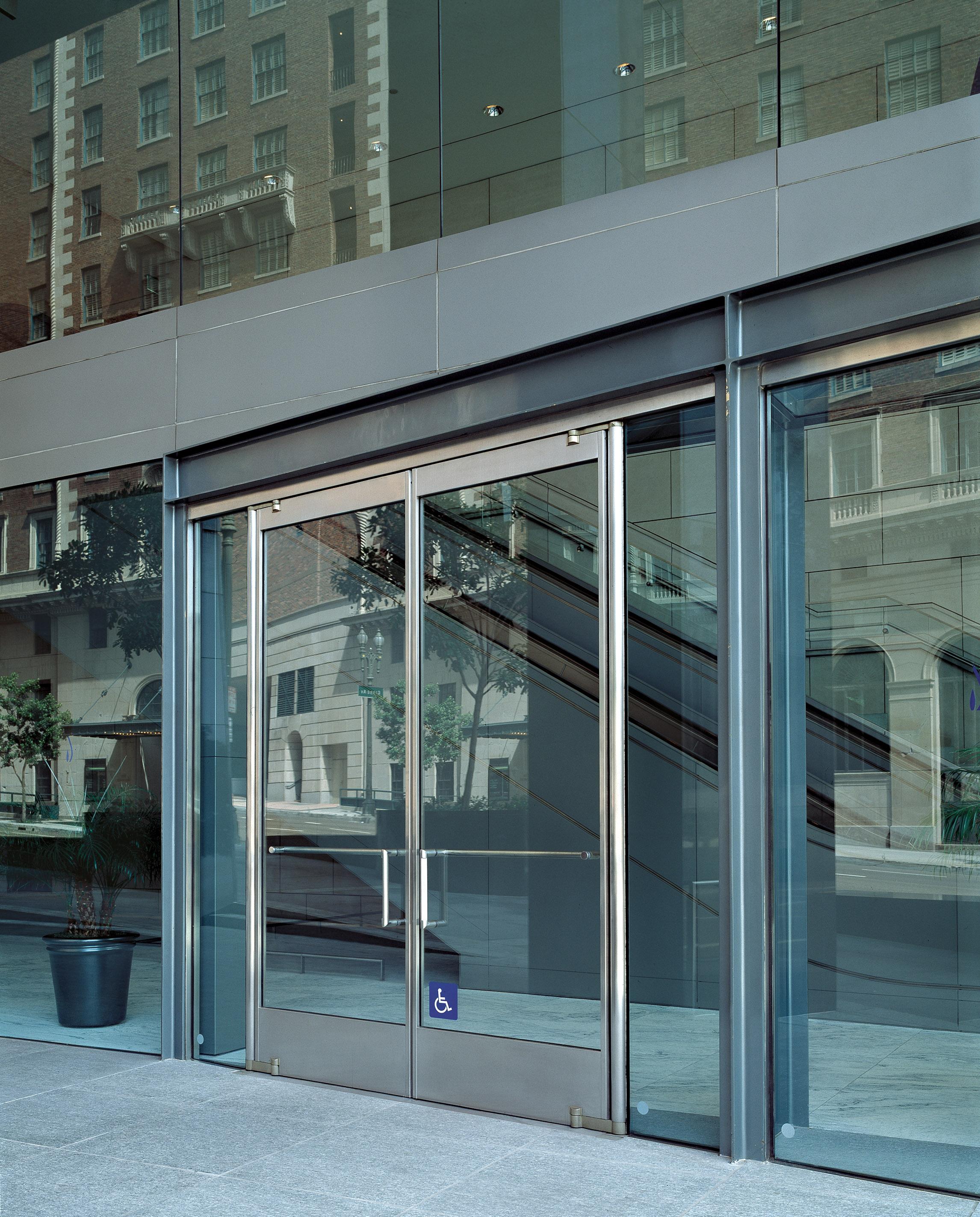 Delicieux Ellison Bronze Tempered Glass Doors With Narrow Stile