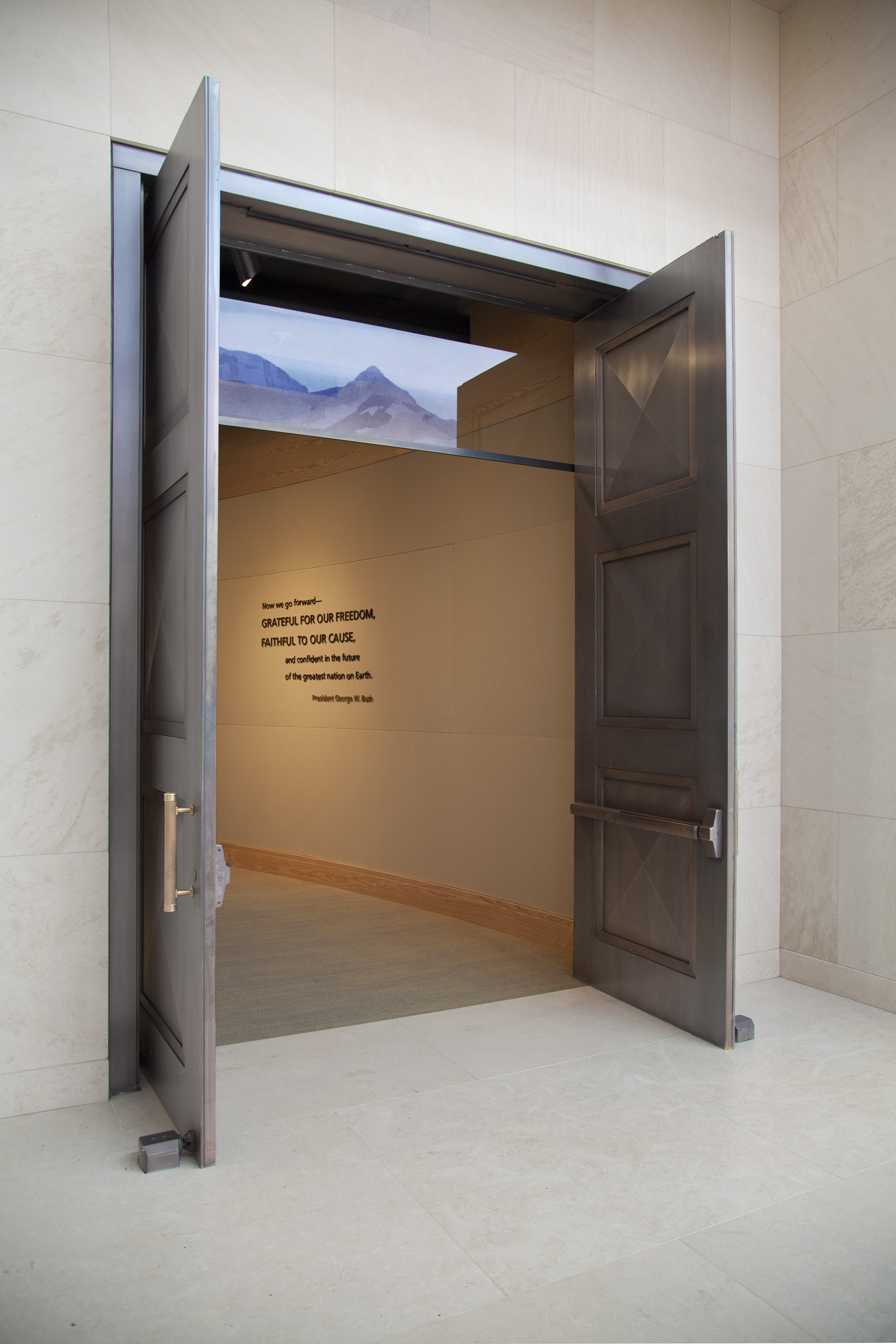 Ellison Bronze & Ellison Bronze Doors Specified for George W. Bush Library and ... pezcame.com