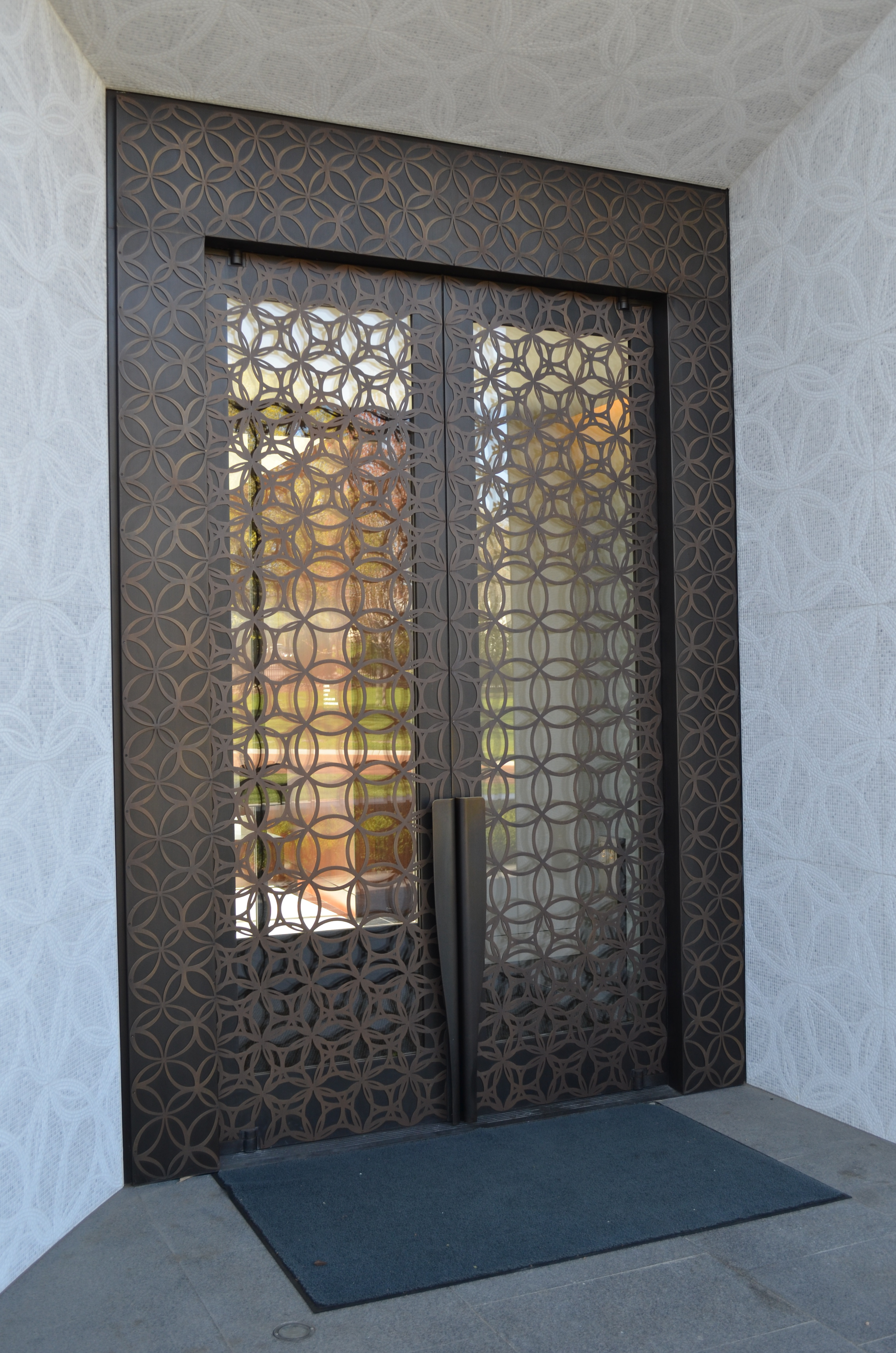 Photo Credit Empirehouse Inc. & New Mausoleum at Lakewood Cemetery Features Seven Balanced Doors ...