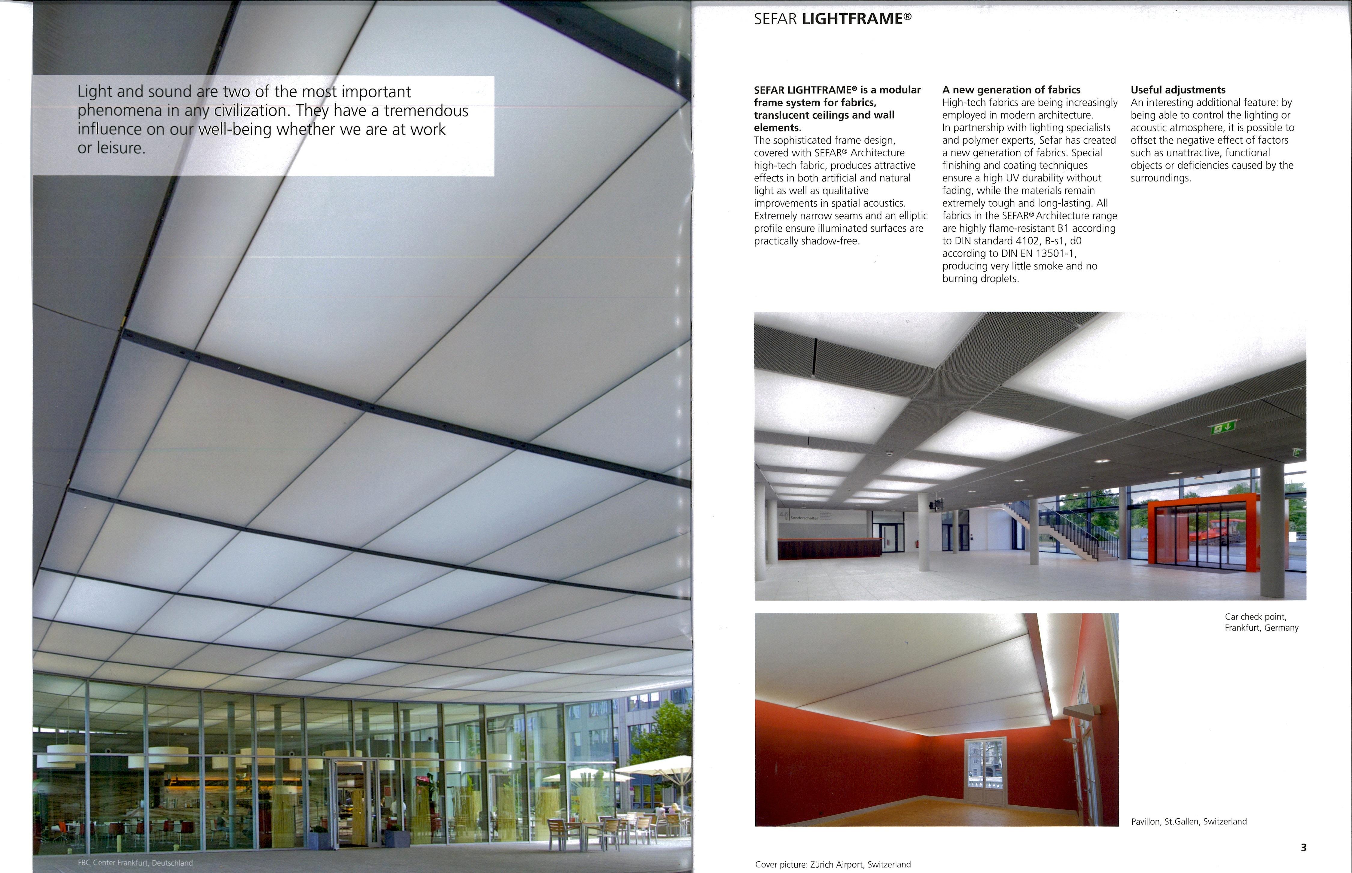 New SEFAR LightFrame® Brochure Spotlights Light Diffusion and
