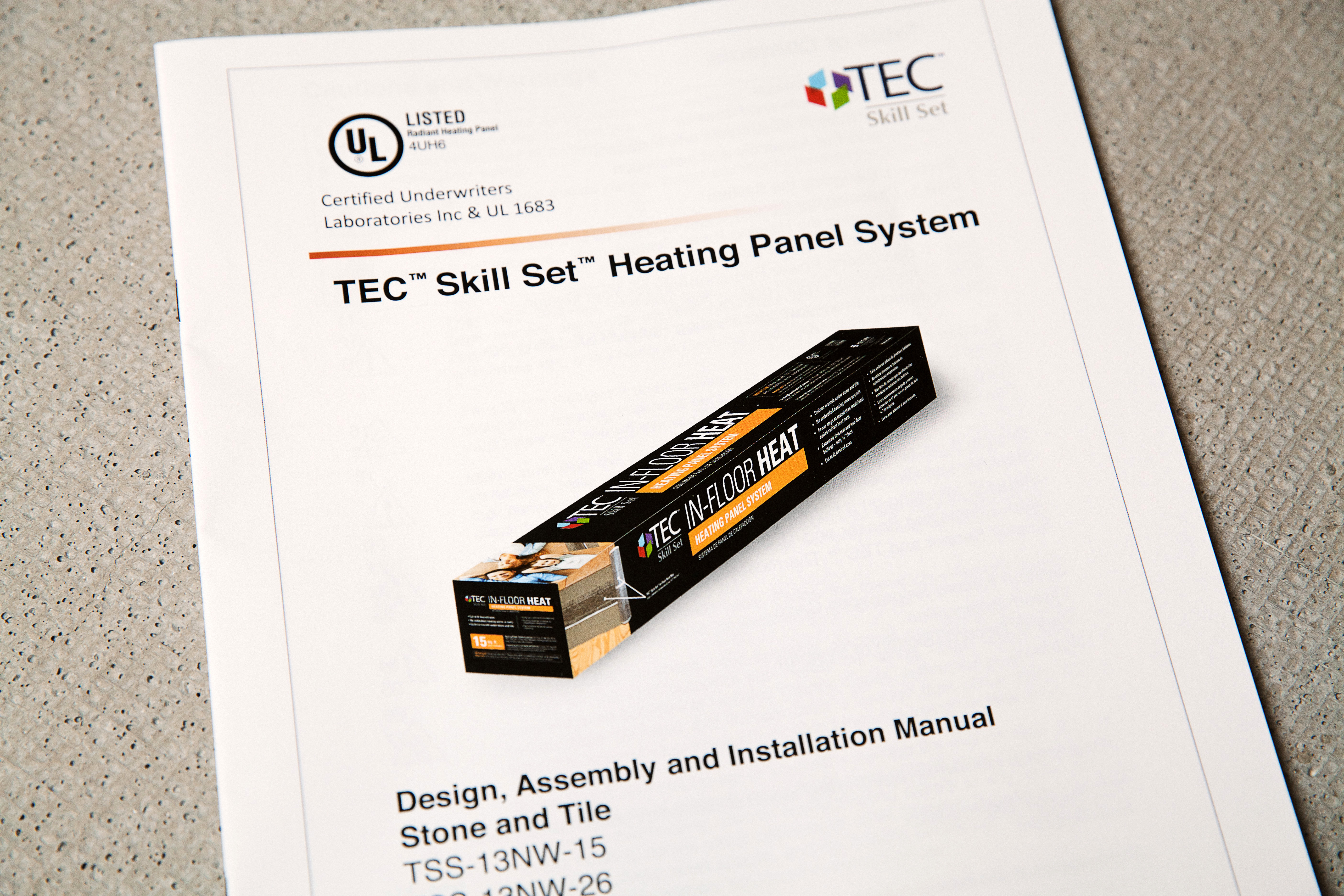 tec 1edited_0?download=1 tec� skill set™ adds ul approved in floor heat system at select Honeywell Thermostat Wiring Diagram at readyjetset.co